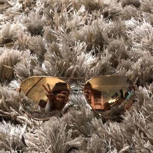 Kate Spade NY BLOSSOM Aviator Sunglasses NWT
